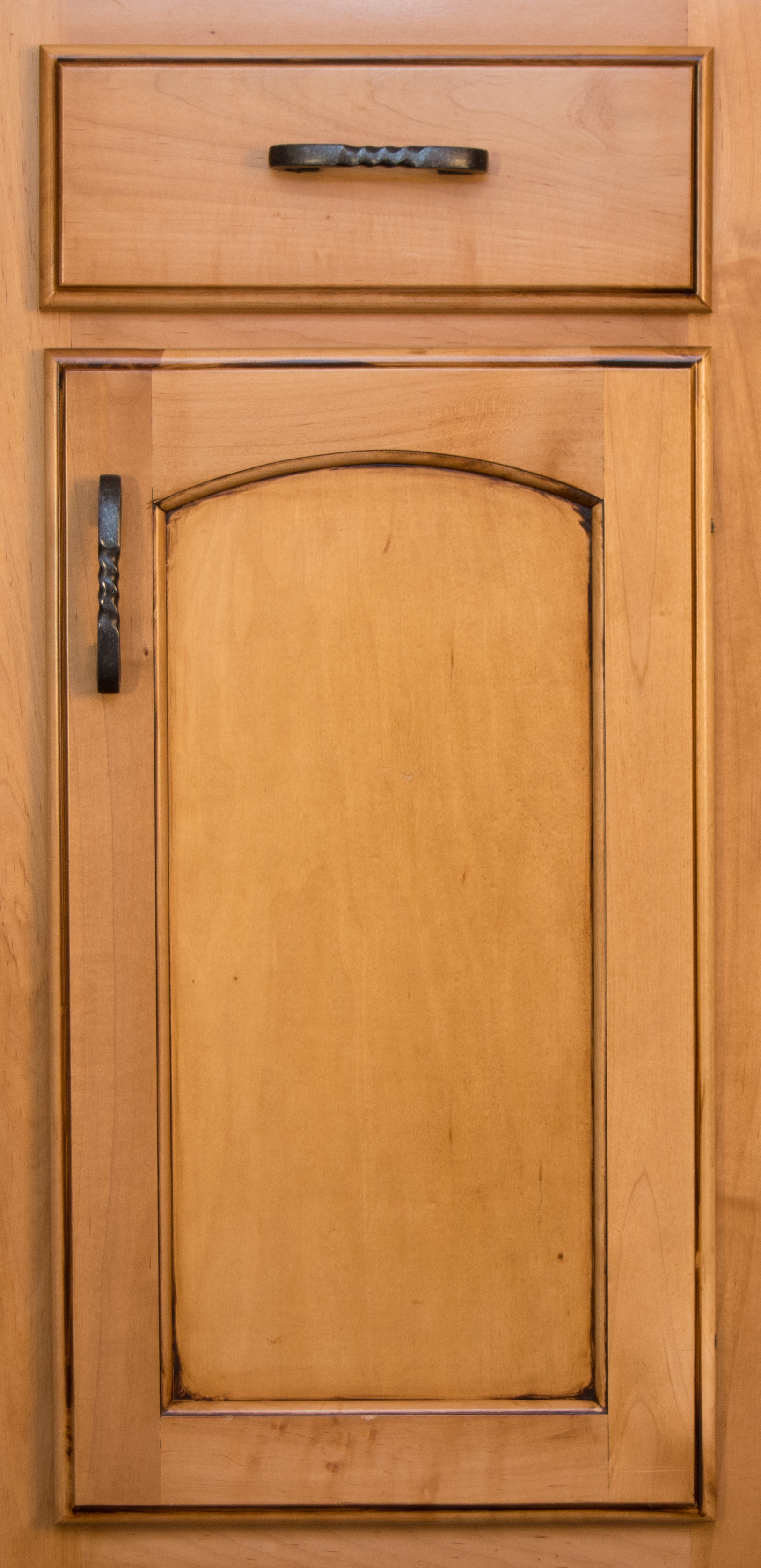 This Simple Arch Design Leans To A More Traditional Taste, While Adding  Subtle Detail And Softness To The Cabinet Door.